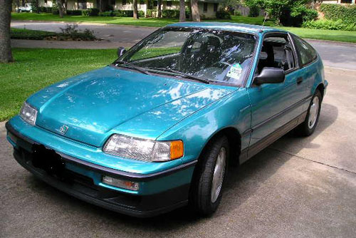 Download Honda Crx repair manual