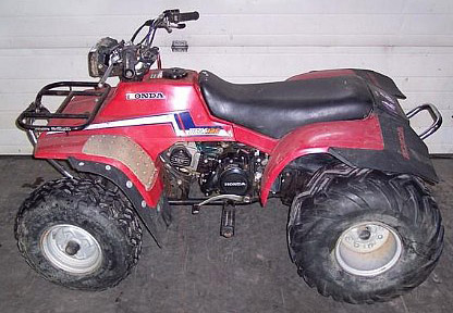Download Honda Trx125 Fourtrax Atv repair manual