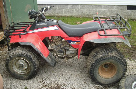 Download Honda Trx200 Atv repair manual