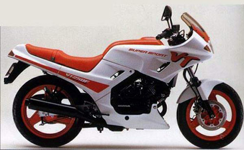 Download Honda Vt250f repair manual