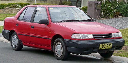 Download Hyundai Excel repair manual
