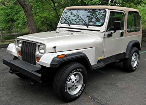 Download Jeep Wrangler Yj repair manual
