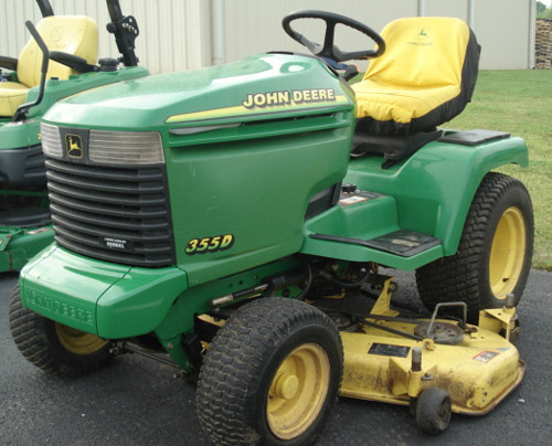 Download John Deere Lawn Tractor 355d repair manual