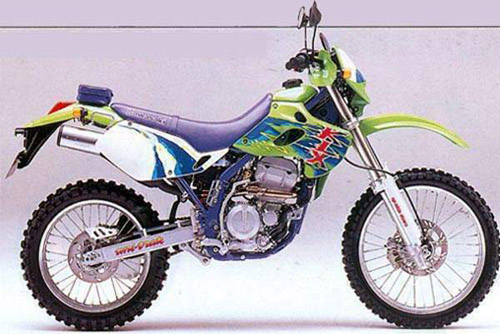 Download Kawasaki Klx-250r repair manual