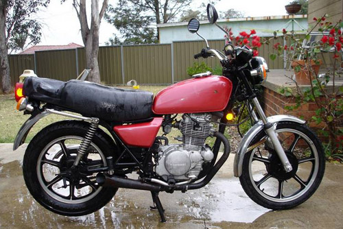 Download Kawasaki Z250 repair manual