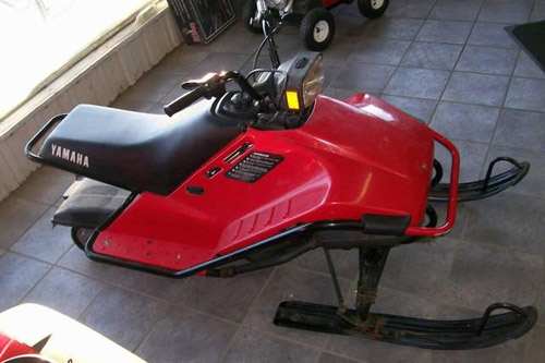 Download Yamaha Snoscoot Snowmobile repair manual